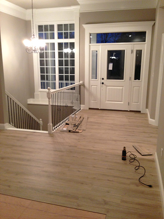 vinyl plank flooring allure repair waterproof trafficmaster