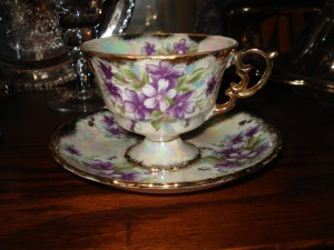 grandmother's teacup