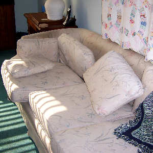 Nasty horrible couch